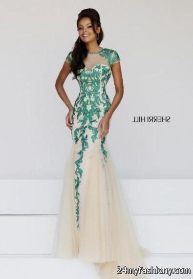 emerald green prom dresses sherri hill 20162017 b2b fashion