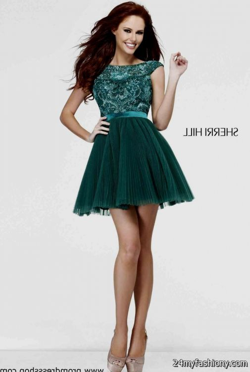 Emerald Green Short Homecoming Dress Looks B2b Fashion