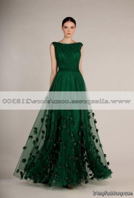 forest green ball gowns 2016-2017 » B2B Fashion