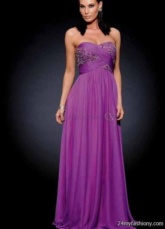 Formal Dresses For Juniors Purple 2016 2017 B2b Fashion