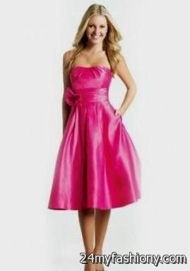 Fuschia Cocktail Dresses Under 100_Cocktail Dresses_dressesss