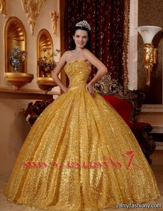 gold ball gown dresses 2016-2017 » B2B Fashion