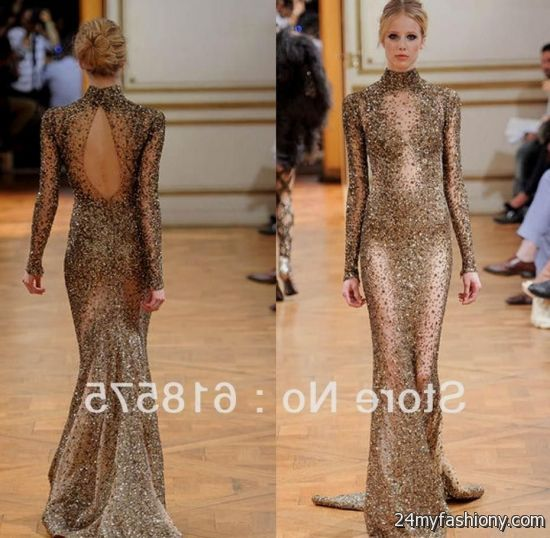 Collection Gold Beaded Gown Pictures - Homeas