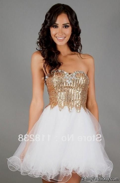 gold dresses for damas looks | B2B Fashion