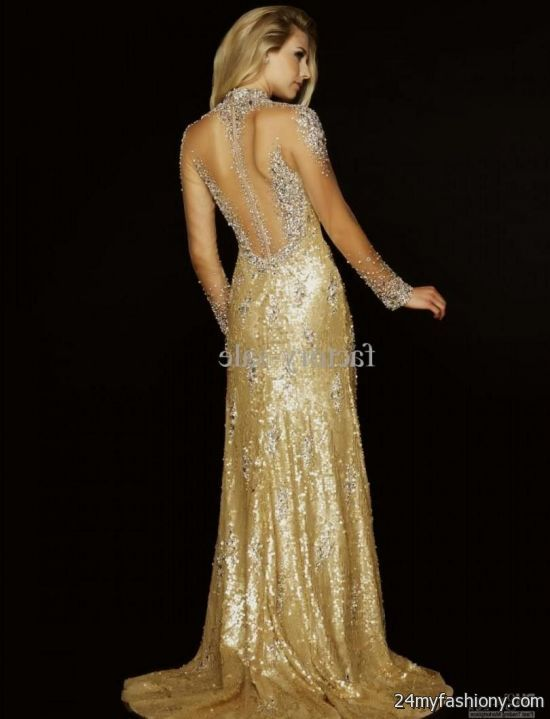gold evening gowns 2016-2017 » B2B Fashion