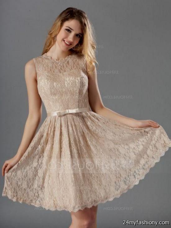 Bridesmaid dresses gold lace