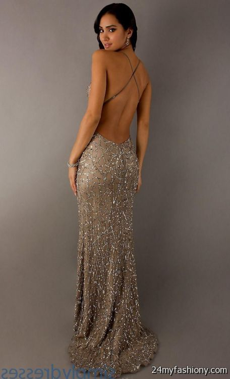 gold sequin prom dress 2016-2017 » B2B Fashion