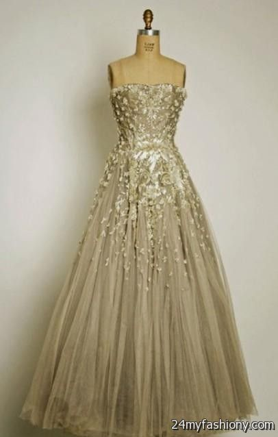 You Will Be The Queen Of Ball In One These Elegant And Poised Prom Dresses Can Share Gold Vintage Wedding