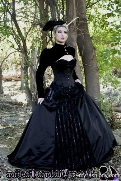 Gothic Black Ball Gown Looks B2b Fashion