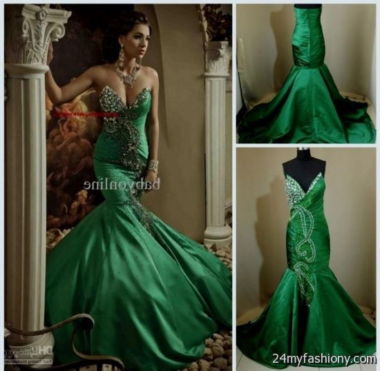 green mermaid dress 2016-2017 » B2B Fashion