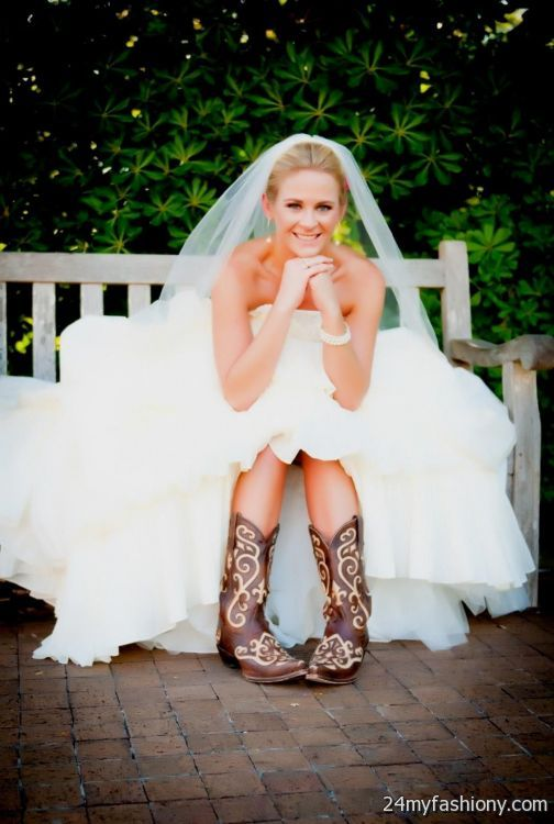 Stunning Cowboy Boots Wedding Dress Photos - Styles & Ideas 2018 ...