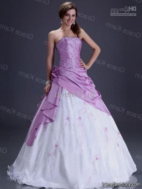 Hot Pink And White Wedding Dresses - Wedding Dresses Thumbmediagroup.Com