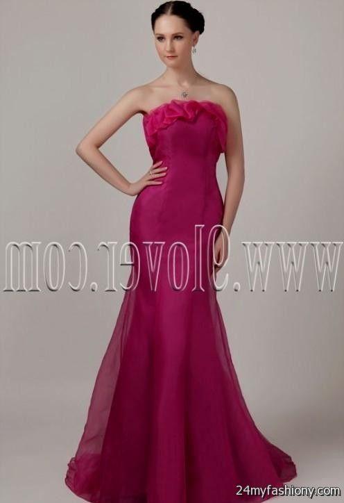 hot pink mermaid wedding dress 2016-2017 » B2B Fashion