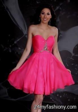 Hot Pink Prom Dresses 2012