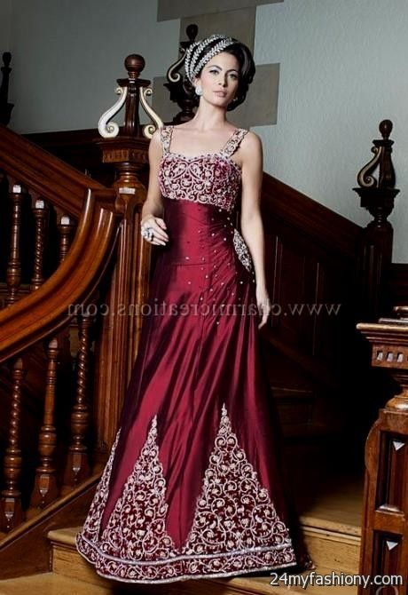 Evening wear for wedding reception discount evening dresses for Indian wedding dresses usa