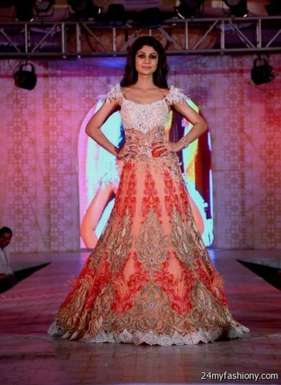 Indian Evening Gowns For Wedding Reception Looks B2b Fashion