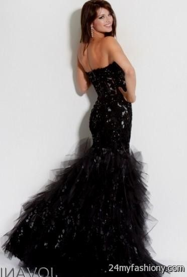 jovani black mermaid prom dress 20162017 b2b fashion