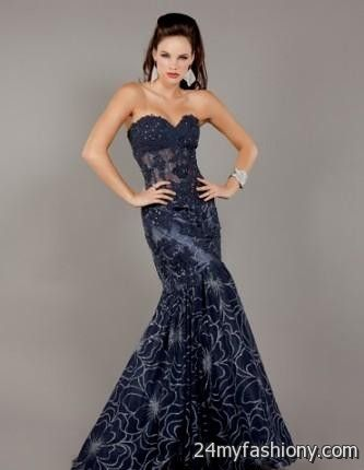 jovani royal blue mermaid dress 2016-2017 » B2B Fashion