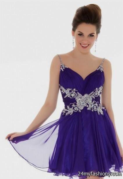 lavender homecoming dresses with straps 2016-2017 » B2B Fashion