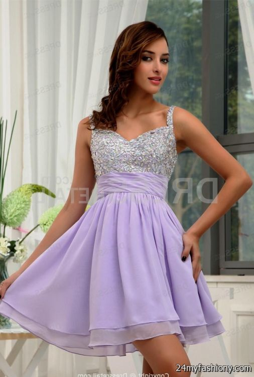 lavender homecoming dresses with straps 2016-2017 » B2B Fashion