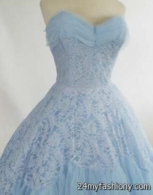 Light blue lace wedding dress 2016 2017 b2b fashion for Light blue lace wedding dress