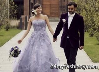 Light Lavender Wedding Dress 2016 2017