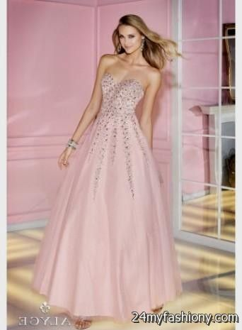 Pale Pink And Gold Dress Weddings Dresses