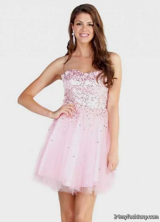 light pink homecoming dresses 20162017 b2b fashion