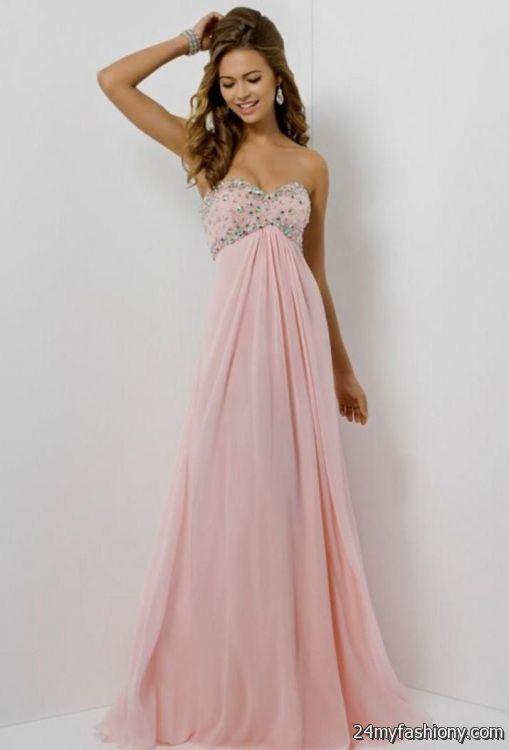 light pink prom dress 20162017 b2b fashion