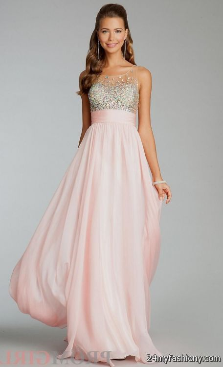 light pink prom dress 20162017 b2b fashion