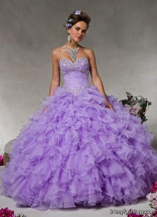light purple and white quinceanera dresses 2016-2017 » B2B Fashion