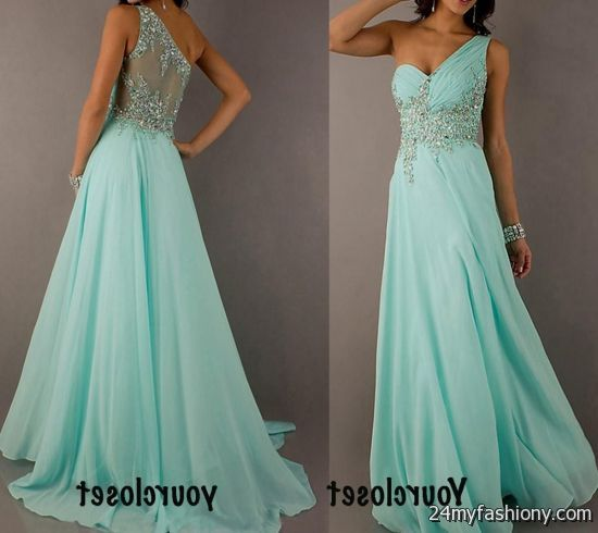 light teal prom dresses with straps 2016-2017 » B2B Fashion