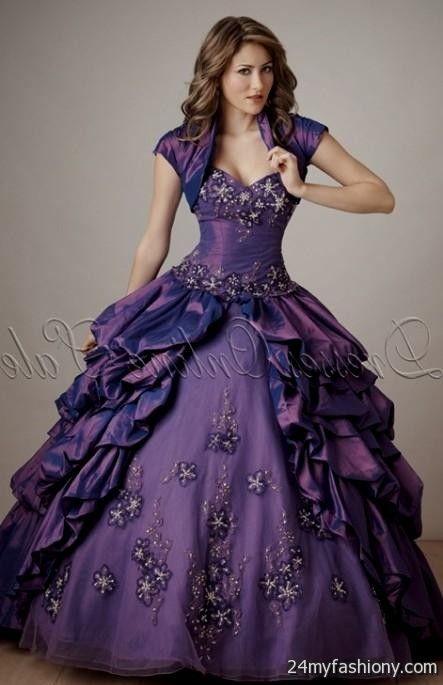 lilac ball gown 2016-2017 | B2B Fashion