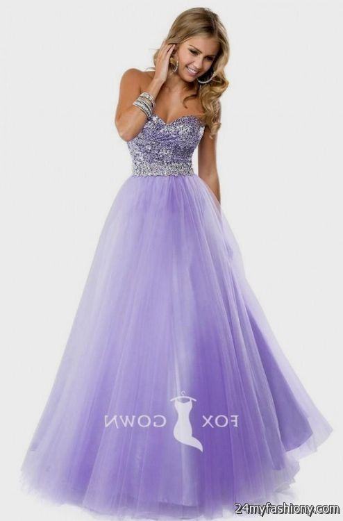 Lilac Ball Gown Dresses – fashion dresses
