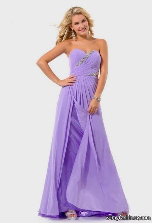 lilac prom dress 20162017 b2b fashion