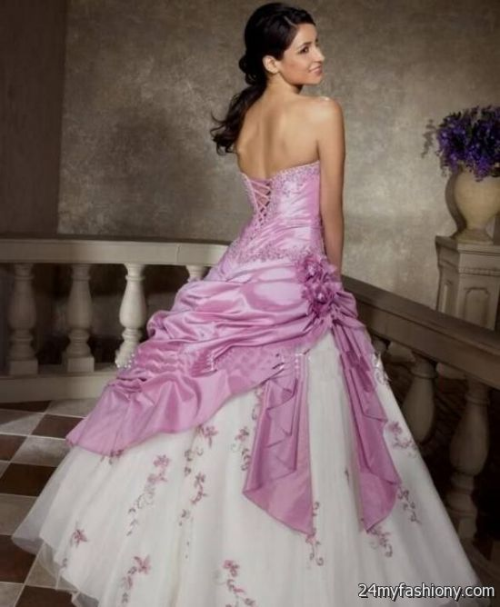 Lilac Wedding Dress 2016 2017