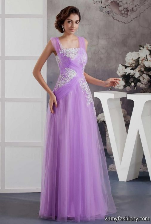 All Lilac Wedding Dresses
