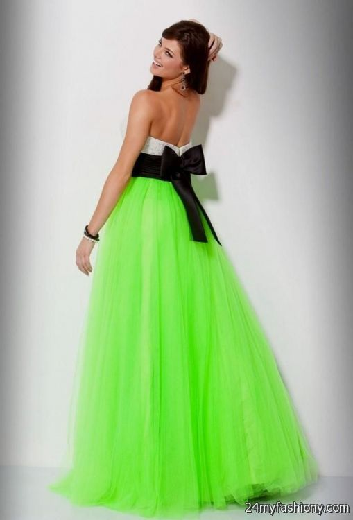Prom Dresses Green And Black - Boutique Prom Dresses