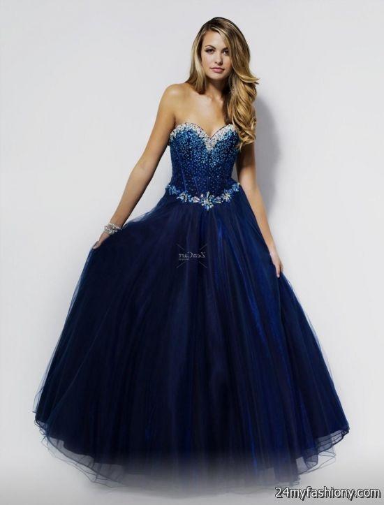 long dark blue prom dresses 2016-2017 » B2B Fashion