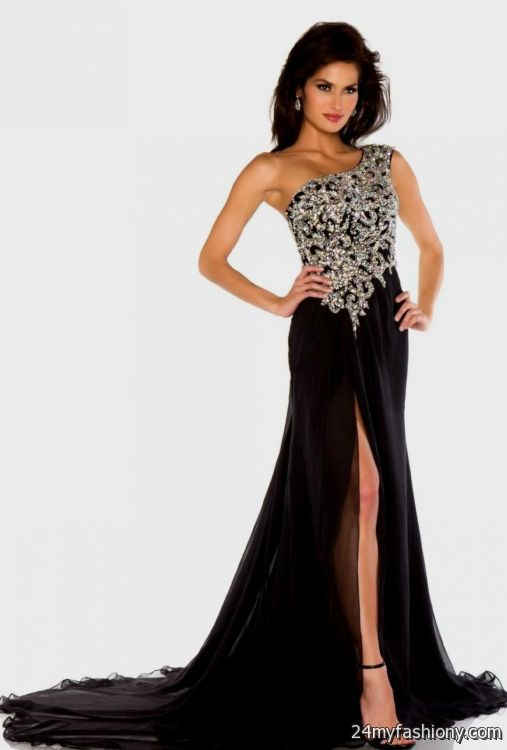 Beautiful Long Black And Gold Prom Dresses Gallery - Wedding Plan ...