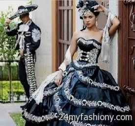 a1bd988632c You can share these mariachi quinceanera dress black on Facebook
