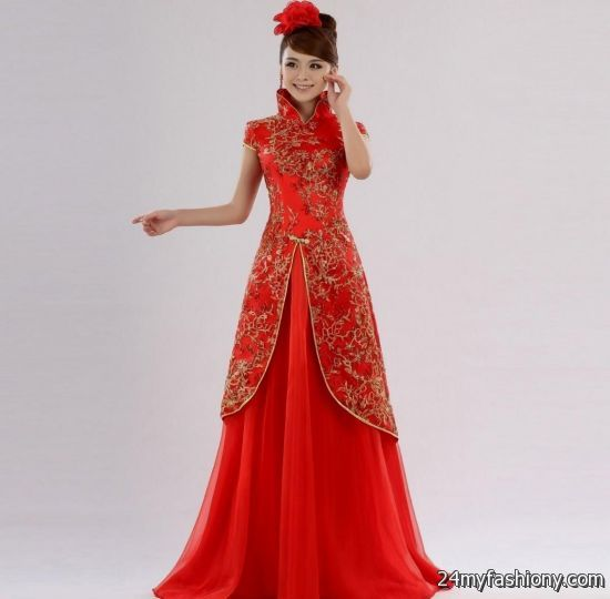 Modern chinese wedding dresses 2016 2017 b2b fashion for Chinese website for wedding dresses