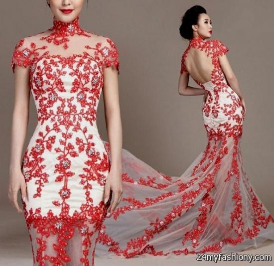 Modern Chinese Wedding Dresses 2016 2017 B2b Fashion