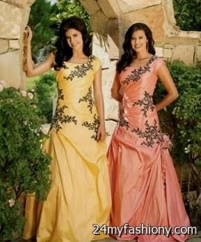Yellow Prom Dresses LDS