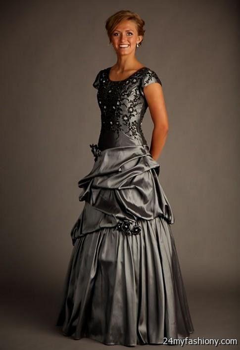 Modest lds prom dresses 2017 discount evening dresses for Modest wedding dresses seattle