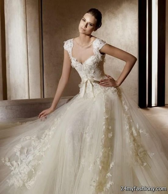 Most Beautiful Ball Gown Wedding Dresses: Most Beautiful Wedding Dresses In History 2016-2017