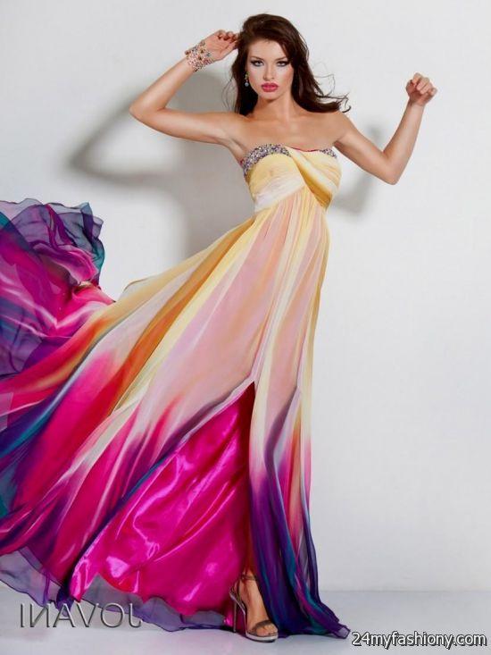 Images of Color Prom Dress - Brida