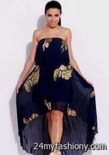 52768201ea You can share these navy blue and gold dress on Facebook