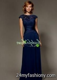 navy blue wedding dresses with sleeves 2016-2017 » B2B Fashion