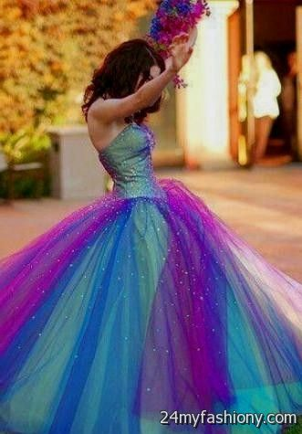 neon colored sweet 16 dresses 2016-2017 » B2B Fashion